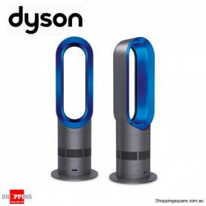Dyson AM04 Hot + Cool Heater Fan, with Air Multiplier Technology (Blue)