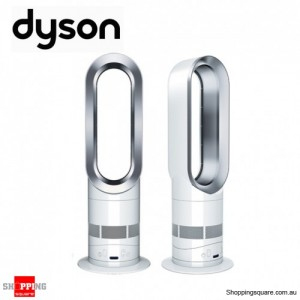 Dyson AM04 Hot + Cool Heater Fan, with Air Multiplier Technology, White