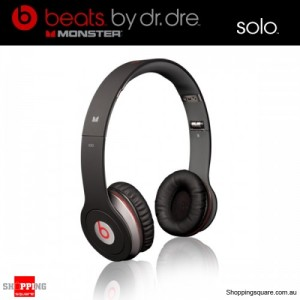 Monster Beats by Dr. Dre Solo HD Headphones Black