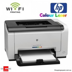 HP LaserJet Pro CP1025nw Wireless Color Laser Network Printer USB