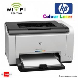 HP LaserJet Pro CP1025nw Wireless Color Laser Network Printer USB