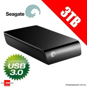 Seagate Expansion 3 TB USB 3.0 Desktop External Hard Drive STAY3000302