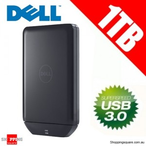 Dell 1TB Portable External Drive USB 3.0 - 2.5'' USB Powered