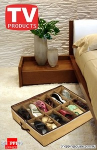 Below The Bed Shoes Organizer