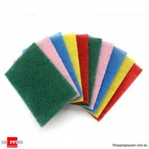 10x Clean tidy kitchen scourers pad
