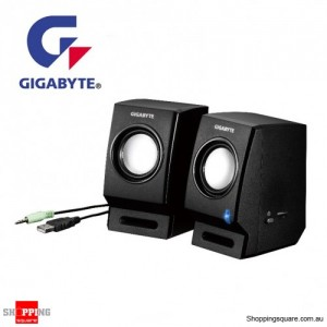 Gigabyte 4w RMS 100-20khz USB power 3.5mm Stereo input speaker