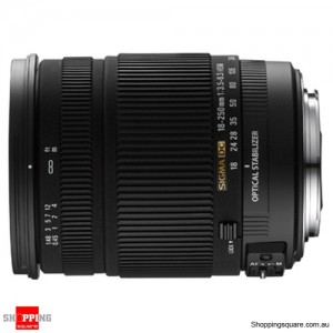 Sigma 18-250mm f3.5-6.3 DC OS HSM For Nikon