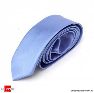 #26 Mens Skinny Solid Color Plain Tie Necktie