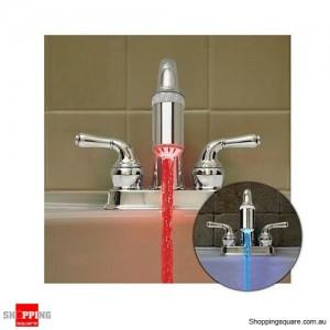 Temperature Sensing Glow Tap - LED Faucet Light Sink Tap