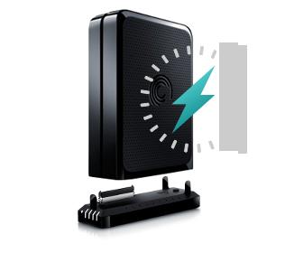 Superb GoFlex Desk Overview Drive With Clock Icon Ideas