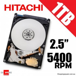 "Hitachi 1TB 2.5"" SATA Internal Hard Drive 5400rpm 0J22413"