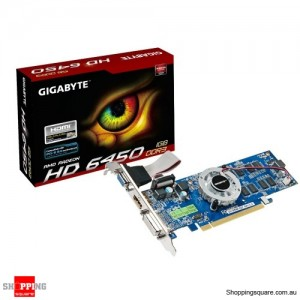 Gigabyte R645-1GI HD645 Video Card,625Mhz,1GB,DDR3,PCIE2.1,LP,HDMI,DVI-D,D-SUB
