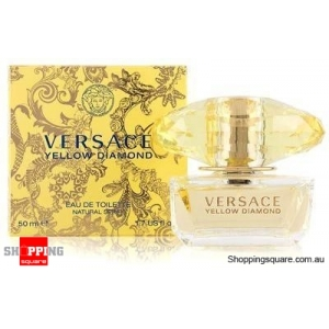 Yellow Diamond By Versace 50ml EDT SP For Women Perfume