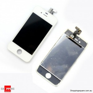 White Colour Replacement Touch Sreen for iPhone 4S Digitizer - Repair Part