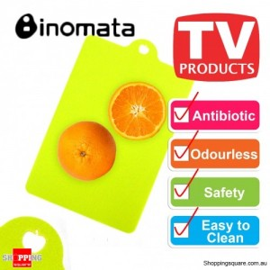 Inomata Folding Index Chopping Board Antibiotic Mat - Fruit