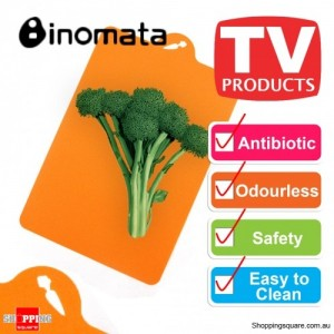 Inomata Folding Index Chopping Board Antibiotic Mat - Vegetable