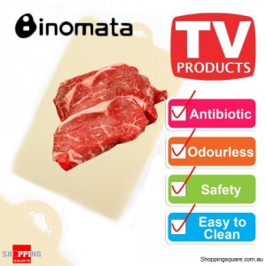 Inomata Folding Index Chopping Board Antibiotic Mat - Meat
