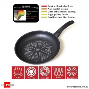 Aluminium Made Fry Cooking Pan