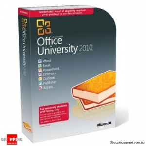 Microsoft Office University 2010 U6l-00003