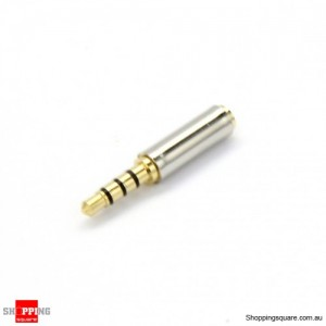 3.5mm Male to 2.5mm Female Audio Stereo Headset Jack Adapter Converter