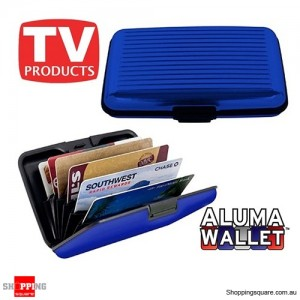 Aluminum Credit Card Wallet Holder Metal Pocket Case Box