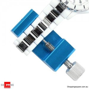 Watch Band Link Pin Remover All-metal Link Remover Extra Pin Blue Colour -Watch repair kit