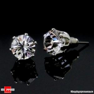 Swarovski Crystal Ear Ring 8mm