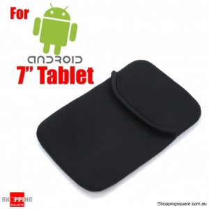 "Soft Sleeve Case for 7"" Samsung Galaxy Tab 3 and Tablets"