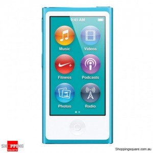 iPod Nano Generation 7 16GB Blue