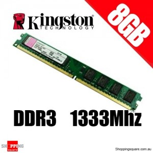 Kingston KVR1333D3N9/8G 8GB 1333MHz