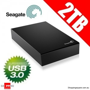 Seagate Expansion 2 TB USB 3.0 Desktop External Hard Drive STBV2000300 2TB