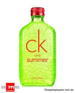 CK One Summer 2012 100ml EDT by Calvin Klein Unisex Perfume
