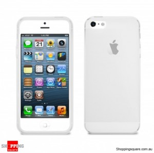 Apple iPhone 5S 5 TPU Clear Cover Crystal Case