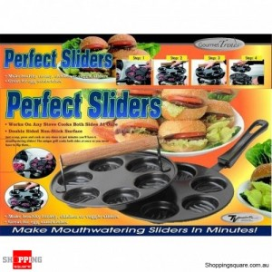 Perfect Slider- Making Burgers and Healthy Snacks Easily!