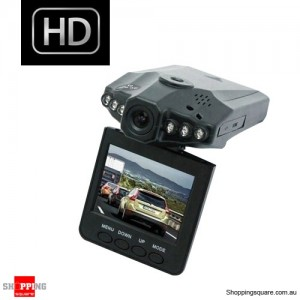 NEW 1080 HD Portable Dash DVR In Car Video Camera - Night Vision Vehicle Recorder - Accident Cam