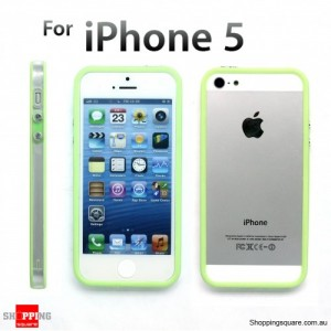Bumper Cover Frame Case for iPhone 5S 5 Green Colour