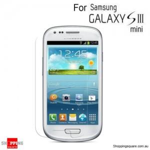 Clear Screen protector for Samsung Galaxy III mini I8190