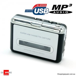 Cassette-to-MP3 Converter Capture Adapter Audio Music Player