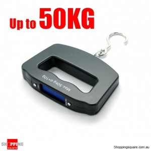 Electronic Portable Digital Luggage Scale Travel 50 KG