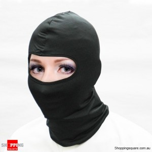 CoolMax Balaclava Neoprene Full Face Mask - Ideal for Ski - Black