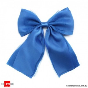 Gift Packing Ribbon Bows Light blue Colour