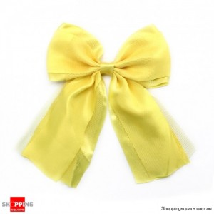 Gift Packing Ribbon Bows Yellow Colour