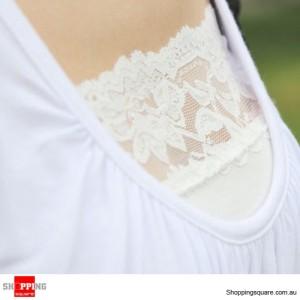 Sexy Women Ladies Lace Boob Tube Top Lingerie White Colour