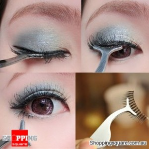 Eyelashes Stainless Auxiliary Tweezers Clip