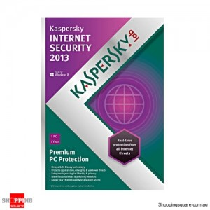 Kaspersky Internet Security 2013 1 USER 1 Year