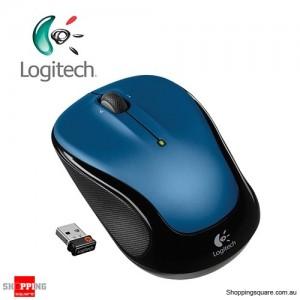 Logitech Wireless Mouse M325 - Blue 910-002387