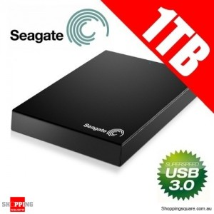 Seagate Expansion 1TB USB 3.0 Portable 2.5 Hard Drive STBX1000301