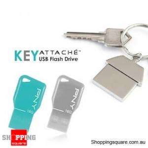 PNY 4GB Key Attach USB 2.0 Flash Drive