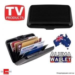 Credit Card Wallet Holder Aluminum Metal Pocket Case Box