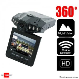 Portable HD In Car Camera Recorder Dash Cam DVR Video with Night Vision